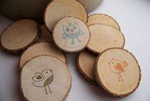 wood ideas / by Traci Przybylek