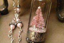 Miniature Glass Bottles