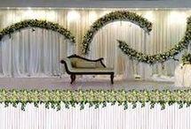 dekorasjon med grønneblander