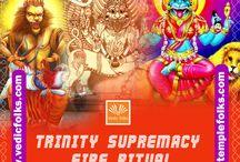 Trinity Supremacy fire Ritual