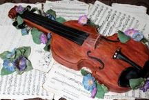 Fiddle Cakes / Looking to make a fiddle cake for your next event?  Here are some great ideas!