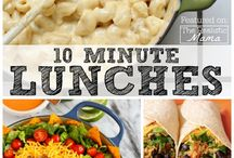 Lunch Ideas for Mom / These quick lunch ideas are perfect for moms. Whether you work at home or are a full-time mom, these easy recipes are delicious and won't take you all day to make. I'm really trying to eat healthy at lunch, but I don't alway succeed! You can't go wrong with a delicious salad. Moms love salad.
