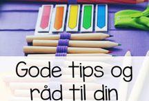 Gode tips - skole ☆