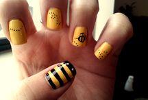Getting my nails did! / by Liz Buhs