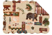 Rustic, Lodge, & Cabin Decor / The ever popular decorating trend. Let our decorating staff help you select patterns for your entire home. Here in Idaho we know the lodge look well. We supply lodges, bed and breakfast establishments, entire lodge style homes, and good ol' family cabins! Enjoy!