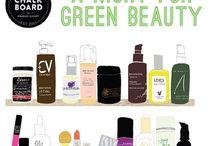 green beauty / natural, safe cosmetics