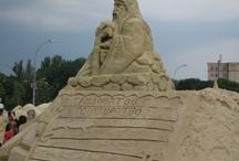 Sandy Town / Interesting pictures from Sandy Town, Kharkiv (Ukraine)
