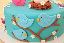 Vogel Kuchen