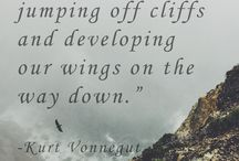 Author Quote / Great words from great writers.