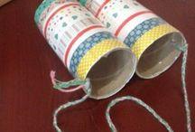Binoculars craft ideas