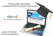 Success Factors / We Feel Very Privileged As We Are The First Choice In SAP Successfactors Online Training. We stand on the graph of the world and made our self recognized as a landmark in training division with dedicated services that have been provided with a difference of quality and reliability.   http://successfactorsonlinetrainings.com/