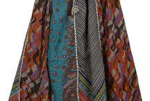 Panel Skirt / fusta clini