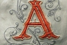 EMBROIDERY - MONOGRAMS