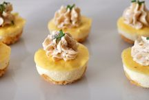 Mini cheesecakes boursin
