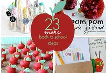 Back to School Ideas and Recipes / Ideas and recipes for back to school