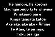 Māori - waiata
