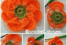 Różne wzory kwiaty nie tylko