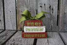 Handmade for the Holidays / Buy small this holiday season! Shopping with small shops help support families, not companies! This is a collection of some of my favorite gift ideas, holiday decor and more. All handmade!