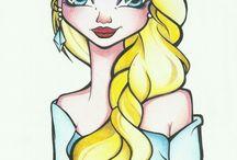 dibujos Maria