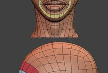 retopology face