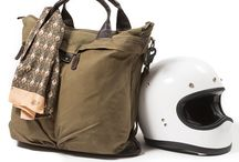 Helmet Bag / #sac à casque #madeinfrance #pilote #aviation #moto #motorcycle #canvas #cuir #leather #gentlemendrivers #chic #elegance #cuir #vintage #apieceofchic