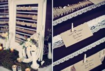 Escort Cards and Seating Boards / Creative placecards and seating for weddings and events.