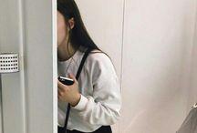ulzzang girl faceless