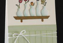 Vases card ideas