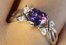 Purple promise rings / Purple promise rings