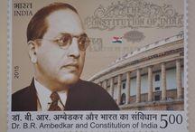 Postage Stamp Release on Bhim Rao Ambedkar / Postage Stamp Release on Bharat Ratna Baba Sahab Bhim Rao Ambedkar