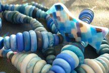 perles et piaf polymère