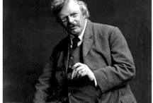 G K Chesterton / Images & quotes from the English writer, G K Chesterton. https://thelongvictorian.wordpress.com/
