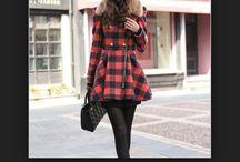 Winter fashion / Winter and spring fashion