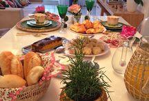 Decoração de café da manhã/decoraciones de desayunos