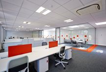 Trevor Blake fit-out projects / James & Taylor office relocation to Chessington Surrey.