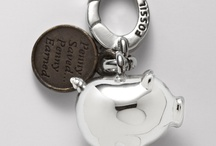 Key Charms / Small art to personalize keys, and beauty to look at on the go.