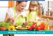 Nutrition workshops for moms