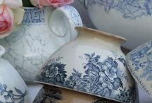 blue servies