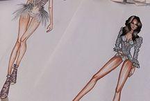 dessin lingerie