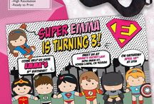 Girl Superhero Birthday Party ideas