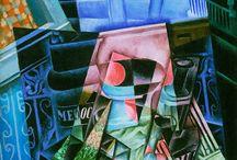 Cubismo sintético Juan Gris
