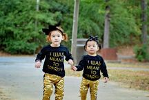 Ana and Luna / Stylish kids, baby fashion , Baby models, toddler photography