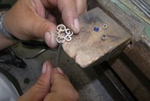 Producing my designs / Jewellery making off