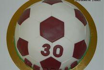 Soccer ball cake / Cake