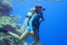 snorkling och dyk