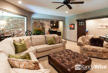 Finished Basements / Randy Wise Homes is proud to bring walkout basements to Niceville, FL and the surrounding areas.  Our clients have choosen to use this space as additional living areas, mother-in-law or teen suites and game rooms.