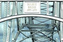 Over the Bridge Cape Cod MA