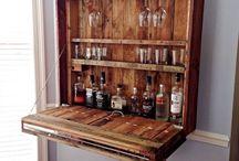 bar in the corner