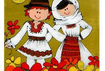 Romanian traditional paintings