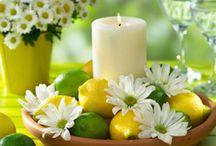 candle centre pieces